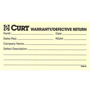 Tag Warrany / Defective