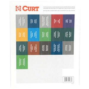Catalog Category Sticker Tabs
