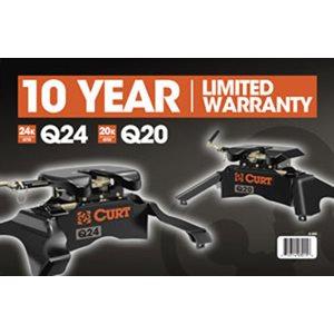 Curt Q-Series 5thWheel Warrant
