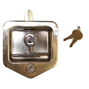 Latch Lock Folding T-Latch SS