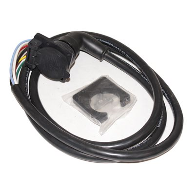 Socket 7-Way Flat RV 7ft Cord