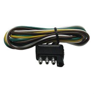 Plug 4-Flat 48in Trailer End