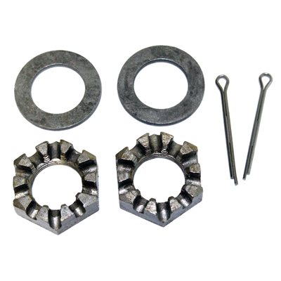 Spindle Nut & Round Washer Kit