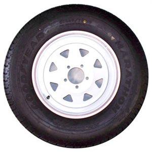 (WSL) TW225-75R15D 550 Spk Wht