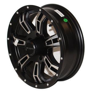 Wheel 15x5 545 Alm 7 Star  Blk