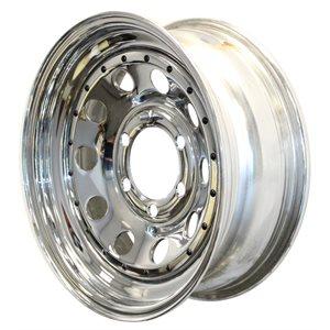 Wheel 16x6 655 Mod Chr w / Riv