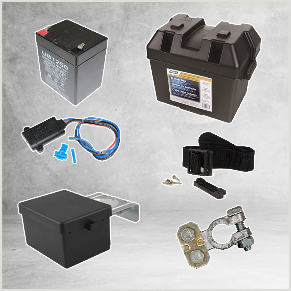 Batteries & Chargers & Boxes