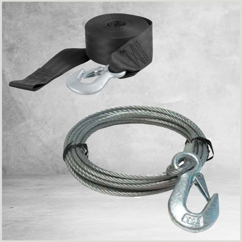 Winch Straps & Cables