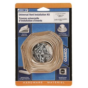Vent Install Kit w / Butyl Tape