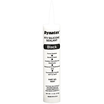Sealant Silicone 11oz Black