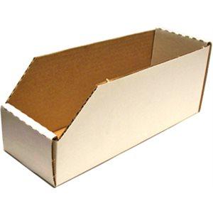 Bin Box 12 x 4 x 5in Cardboa