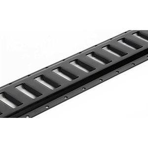 E-Track 10ft Horizontal Black