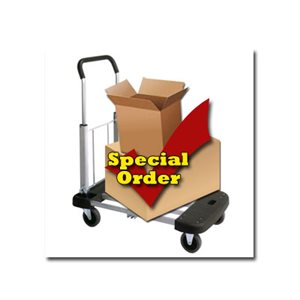 "SPECIAL ORDER  ""NONRETURNABLE"""
