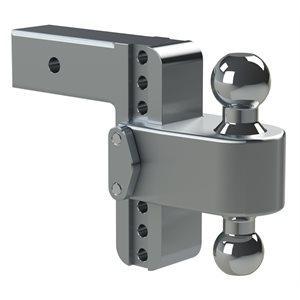 Mount Adj Dual Ball 2.5x6 D w /  WS06 Lock