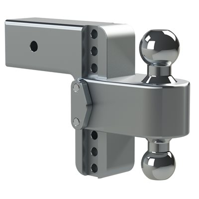 Mount Adj Dual Ball 3x6 D w /  WS06 Lock