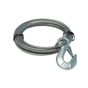 Cable Winch 25ft w / Hook 4.2K