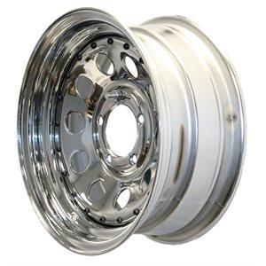 (WSL) Wheel 14x6 545 Mod Chr w / Riv