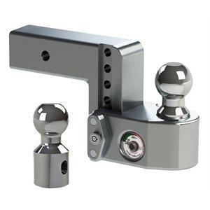 Mount Ball Adj 2.5x4 D w /  WS06 Lock